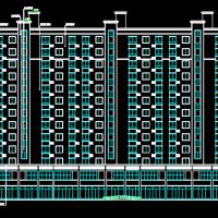 11919平米商住楼建筑预算及模型(含图纸 广联达软件应用)
