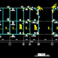 4421平米四层框架结构商业楼毕业设计(含计算书)