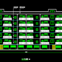 3000平米六层框架结构住宅楼全套毕业设计(计算书 开题报告 任务书)