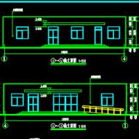 某厂区一层餐厅厨房设计图纸