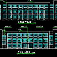 三层框架办公楼建筑设计方案