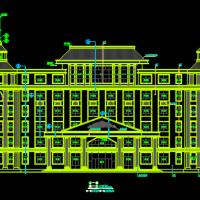 好看的欧式办公楼建筑设计CAD施工图
