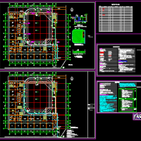 某学校体育场改造设计施工图