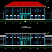 两层实操中心楼方案图
