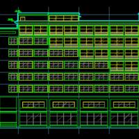 某地高层写字楼建筑设计方案图