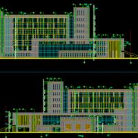 32465平米某大学图书馆建筑施工图纸