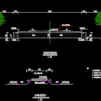 黄清堰土地复垦设计CAD图纸