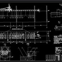 60吨转炉2#皮带运输机及高位料仓布置总图