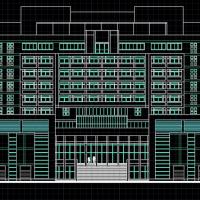 24099平米某大学图书馆综合楼方案图纸