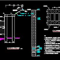 矿坑修复利用工程冰雪世界基坑支护工程(双排桩)