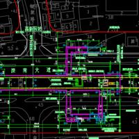 某地铁站主体全套施工图(轨道交通)