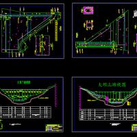 混凝土重力坝设计图(含计算书及说明)课设图