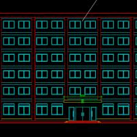 6000平米6层框架结构办公楼毕业设计
