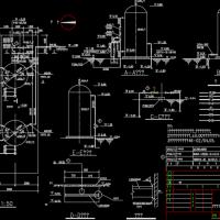 内蒙古某臭氧处理炼油厂污水处理场技术改造设计图