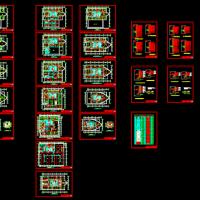 25层办公楼综合布线及消防报警系统设计(课程设计带计算书)