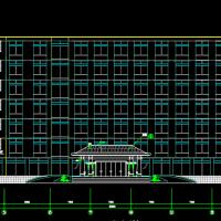 5535平米七层框架结构办公楼毕业设计(含图纸、计算书、施组)