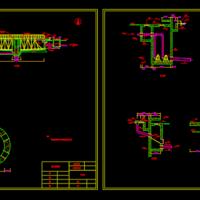 辐流式沉淀池CAD图纸