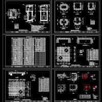 污水处理厂污水闸门井设计图纸