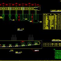波形护栏端头处理结构图