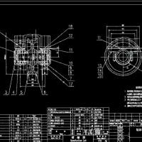 60吨转炉氧枪横移小车主动轮与被动轮全套图纸