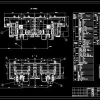 60吨转炉氧枪升降及横移装置总装配图