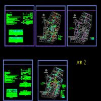 别墅区室外供电系统设计CAD图纸