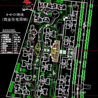 古盐新村规划平面图