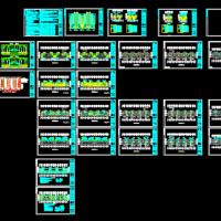 11层住宅楼电气设计图纸(带地下自行车库)