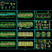 小高层住宅楼建筑设计全套施工图