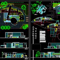 大学生活动中心设计方案图