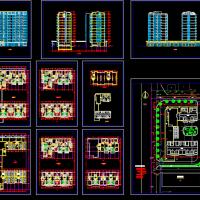 小高层住宅方案设计图纸