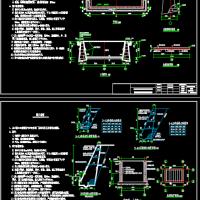 养殖厂青贮池及无公害化处理池设计图纸