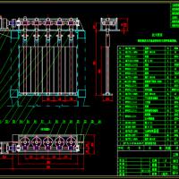 某(非标)蜗轮蜗杆减速机CAD图