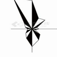柳州风玫瑰图CAD版