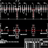 YBP1400-A型氧化沟转碟曝气机组安装基础图