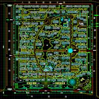 经典小区规划设计图