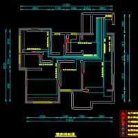 家装水电CAD全套施工图纸
