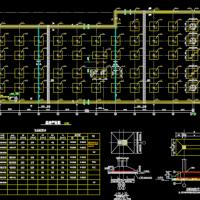 7612地下车库建筑及结构设计图纸