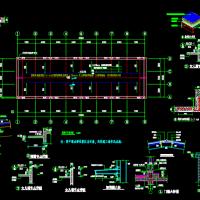 安徽791平米锅炉房建筑及结构设计施工图纸