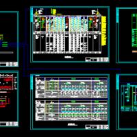 某医院骨科大楼电气系统图