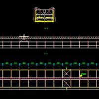 移动罩滤池CAD图纸