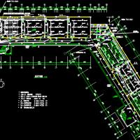 4640平米学校教学楼电气系统设计图