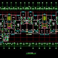 4192平米7层住宅楼毕业设计图(工程量清单,施组 ,安装,图纸)