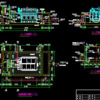 污水处理厂转盘微滤池工艺设计图纸(大院设计)