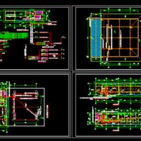 某加油站电气安装CAD设计图纸