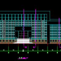 某多层法院办公楼建筑设计施工图