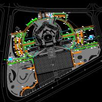 市环岛商务中心办公区域海绵城市建设工程图纸