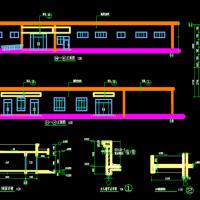 1481平米一层砖混结构校园幼儿园建筑及结构全套施工图