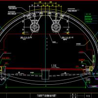 重庆隧道通风设施施工图设计18张(射流风机预埋)