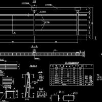 路桥栏杆图集(几十个道路桥梁栏杆)设计详图(含石栏杆 铁栏杆)